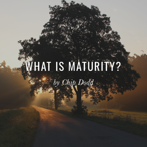 What is Maturity?